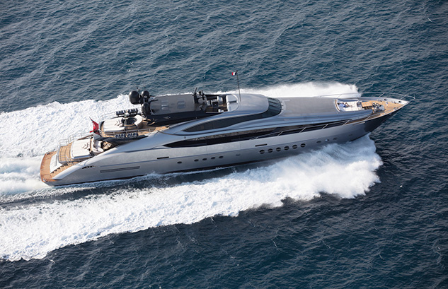 M/Y SILVER WAVE – PALMER & JOHNSON 150'